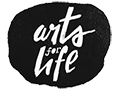 Black and White Arts for Life Logo