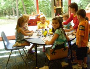 Olson Huff Center Art Table