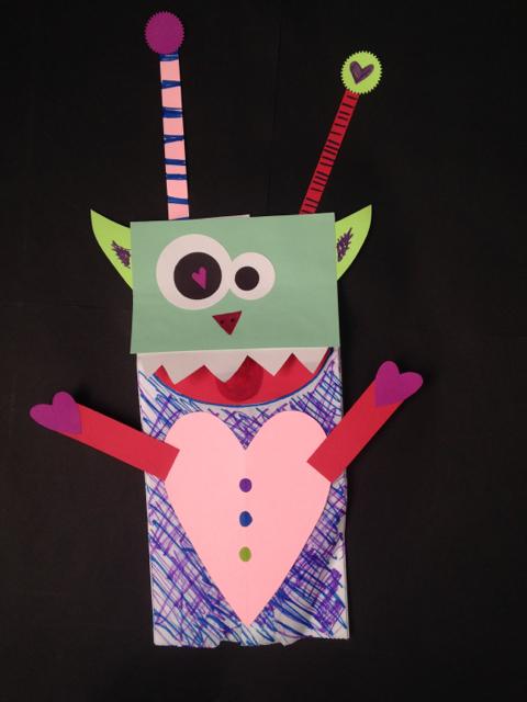 Love Monster Puppet