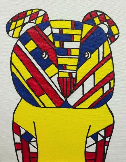 """Mondrian Bear"""