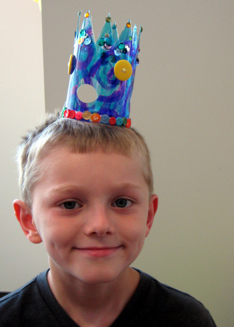 Recycled Water Bottle Crowns