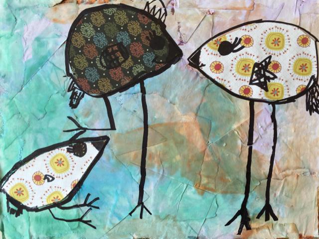 Birds at Play by Serenity
