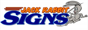 Jack Rabbit Signs - Horizontal