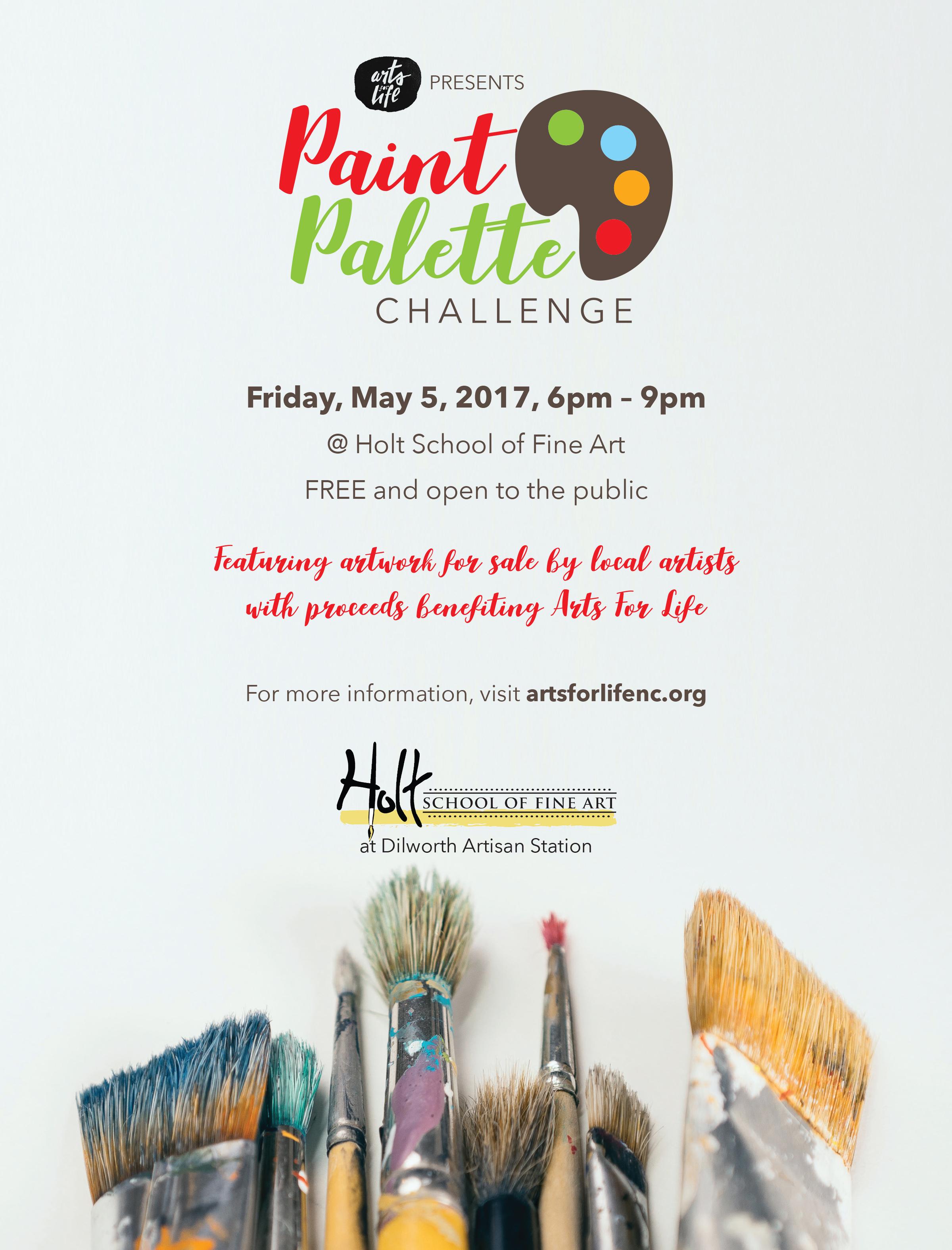EB2017-27 AFL Paint Palette Challenge Flier v4