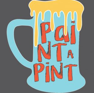 2x2 AFL Paint A Pint Flier