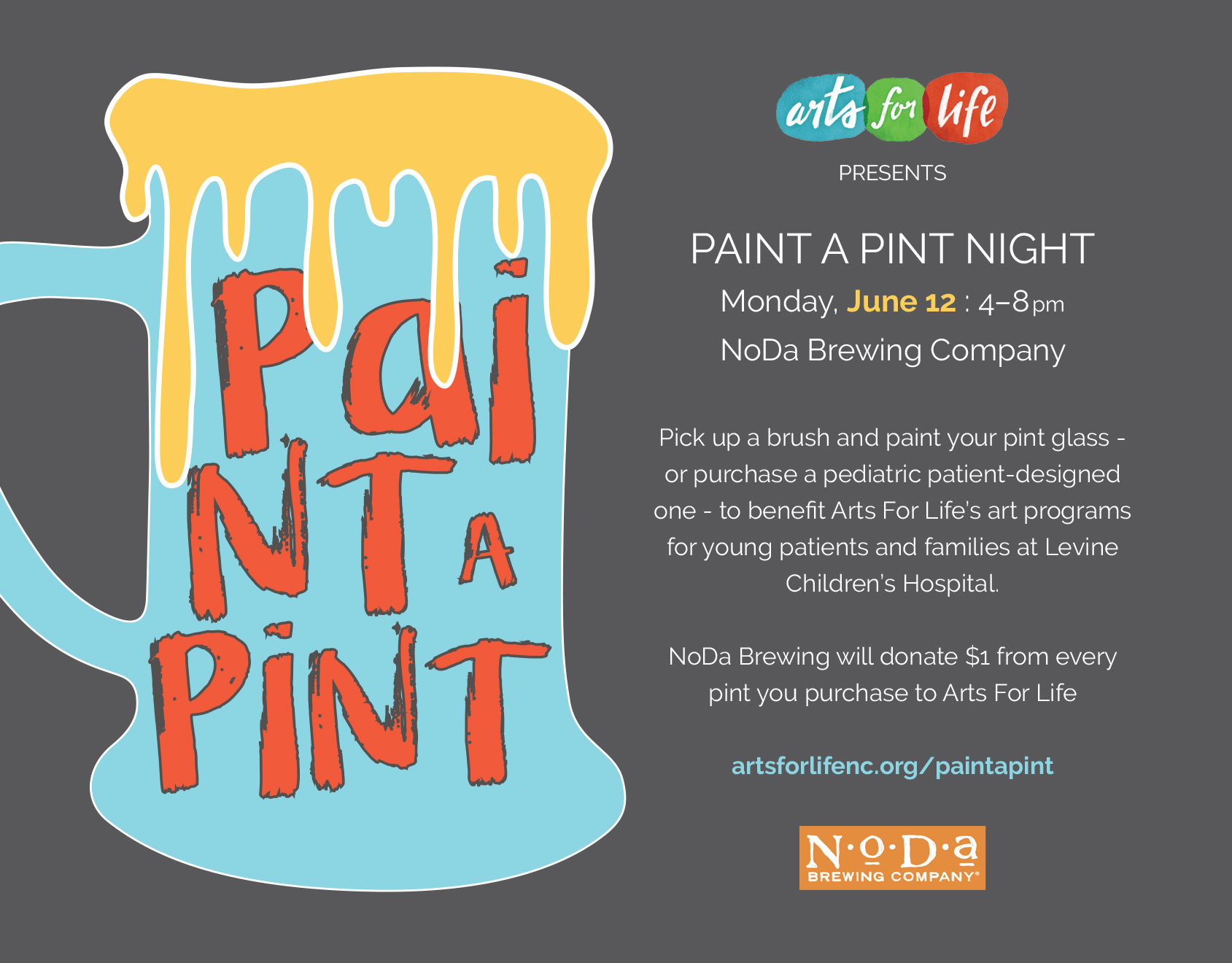 4x6 Paint A Pint Flier