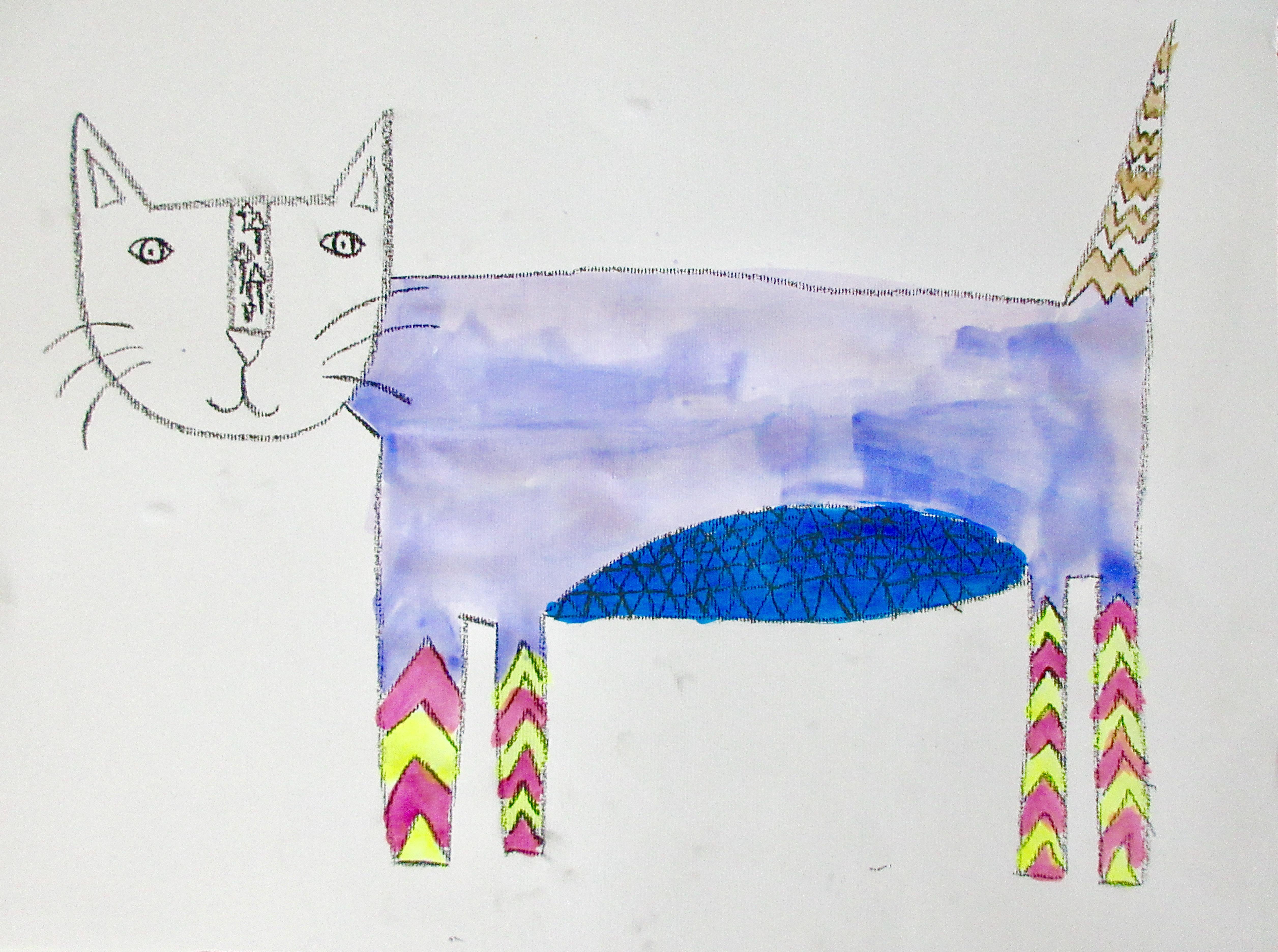 Chevron Cat_Karlie_age10