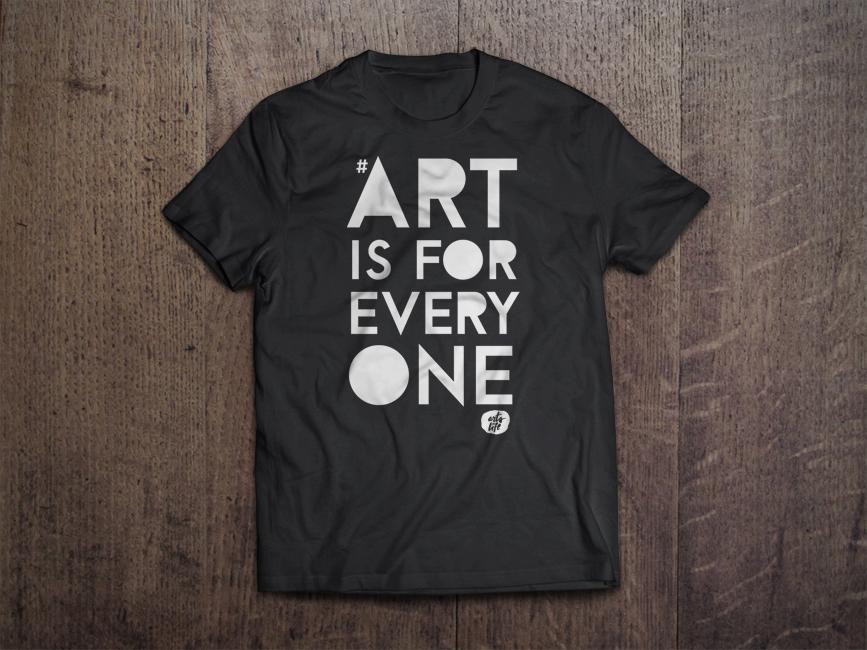 AIFE-2 - T-Shirt MockUp_Front - Dark Gray