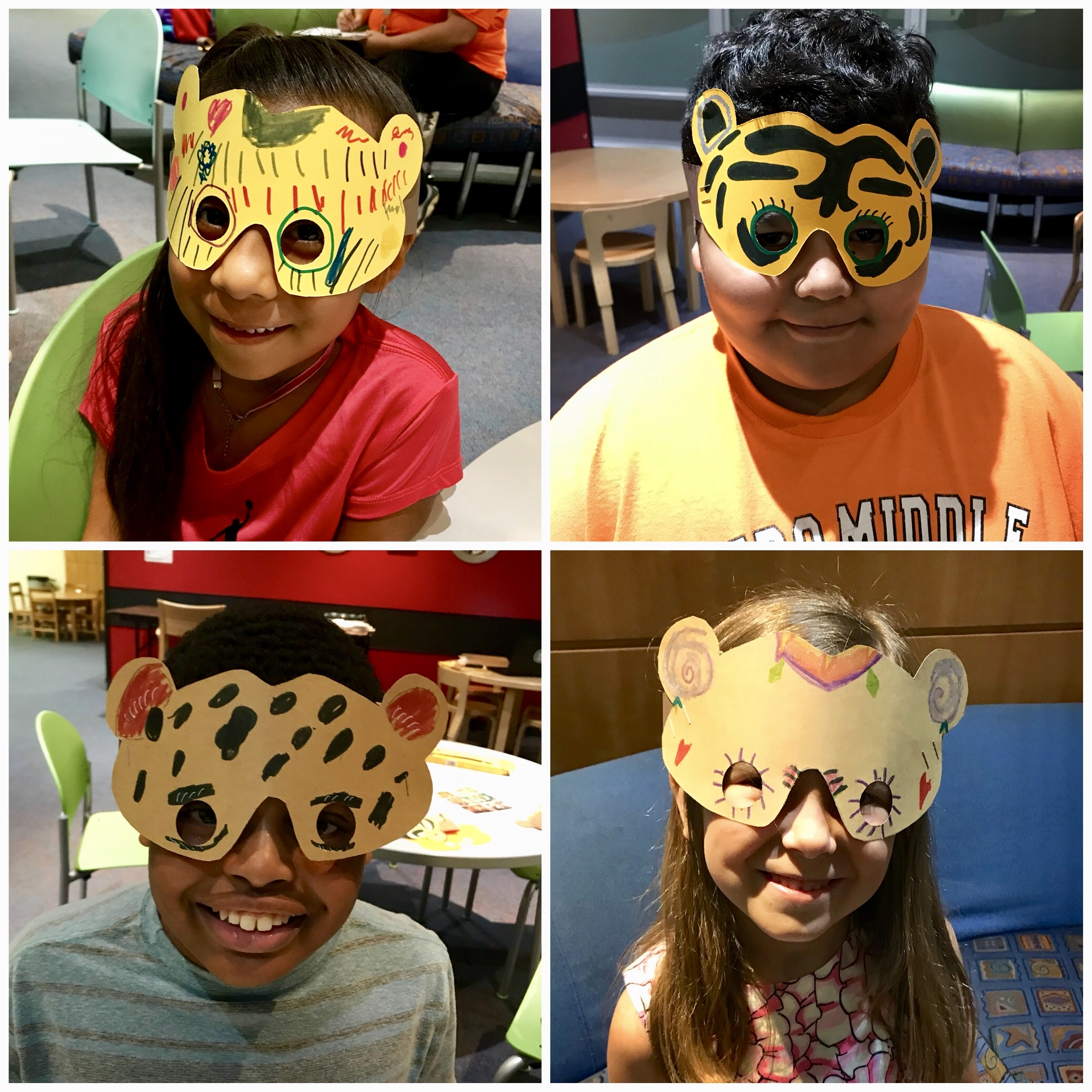 CREATE collage 4 masks